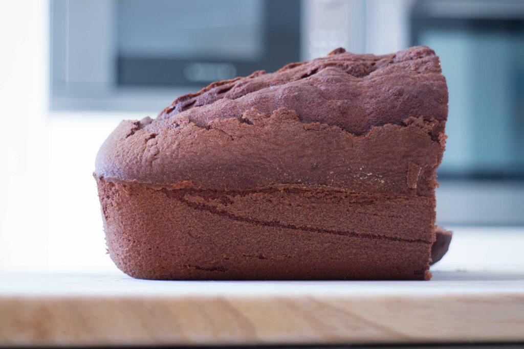 Cake chocolat café avril 2021 tronche de cake