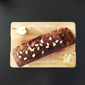 cake poire et chocolat