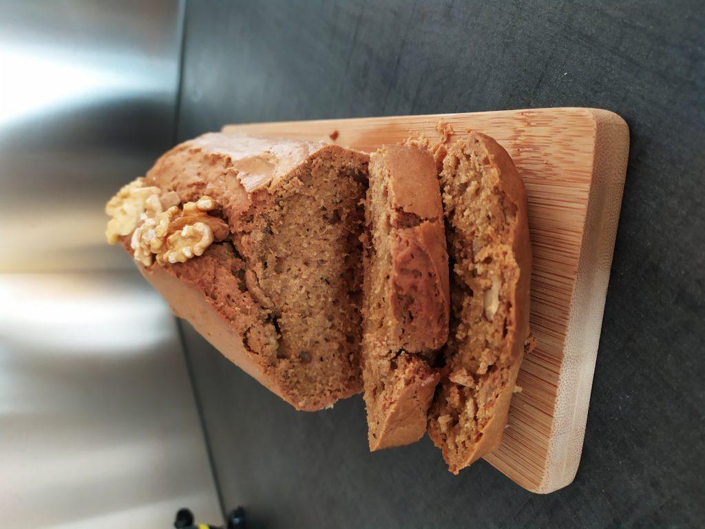 Cake café noix juillet 2021 tronche de cake