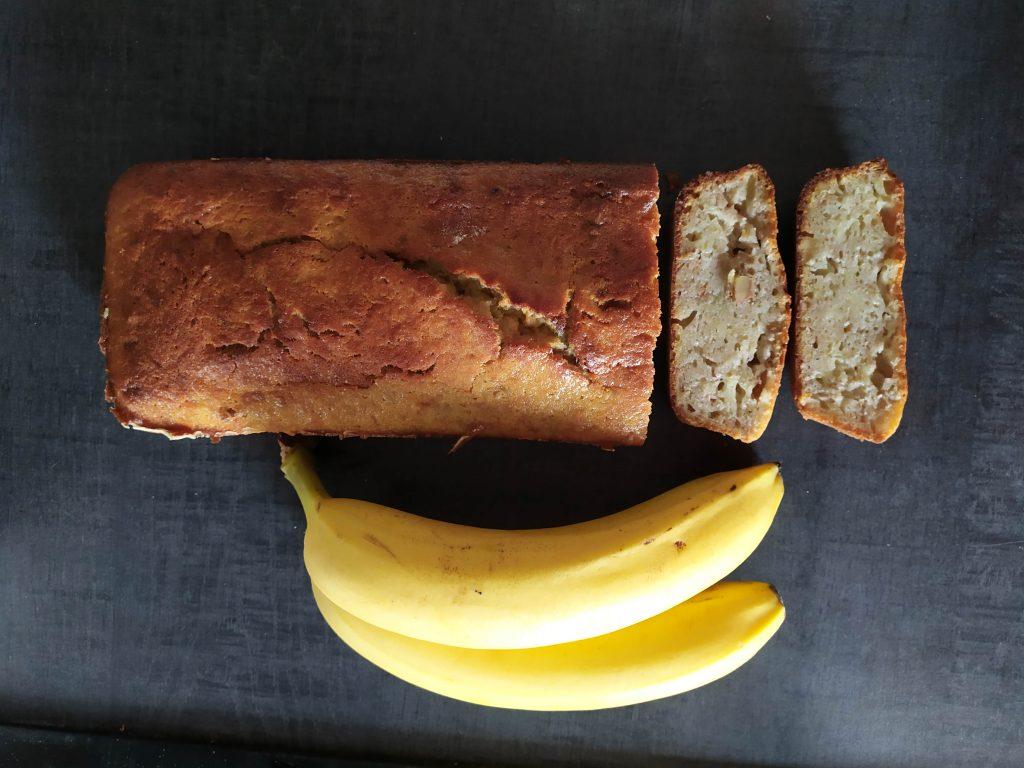 cake à la banane