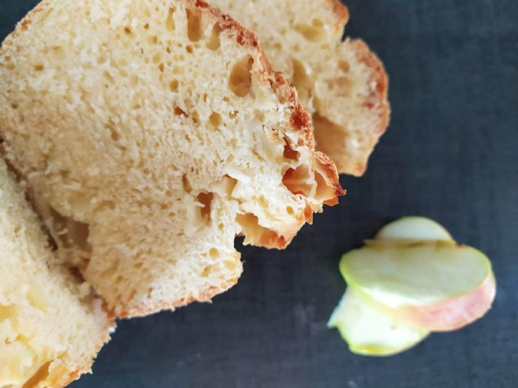 cake brioché aux pommes