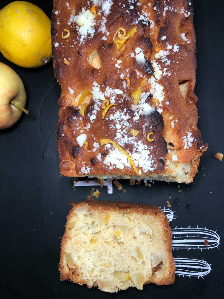 cake pomme citron